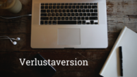 Verlustaversion Blogbanner