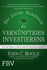 Das kleine Handbuch des vernünftigen Investierens Buchcover