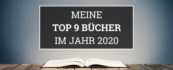 Meine Top 9 Bücher 2020 Blogbanner