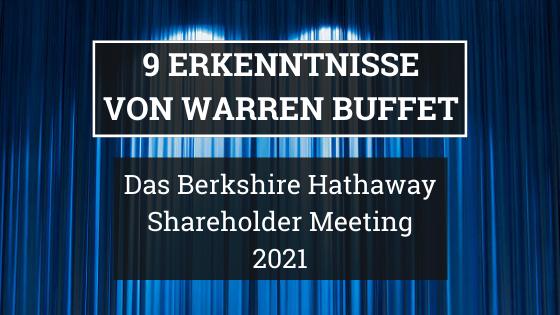 9 Erkenntnisse von Warren Buffett 2021 Blogbanner